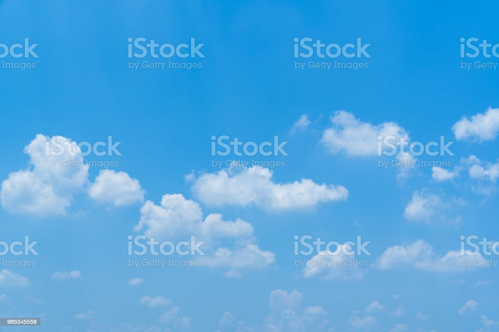 Beautiful blue sky day background. royalty-free stock photo
