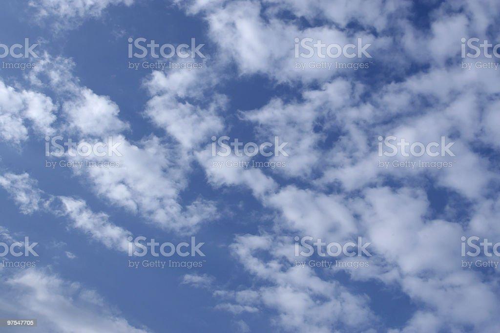Beau ciel bleu photo libre de droits