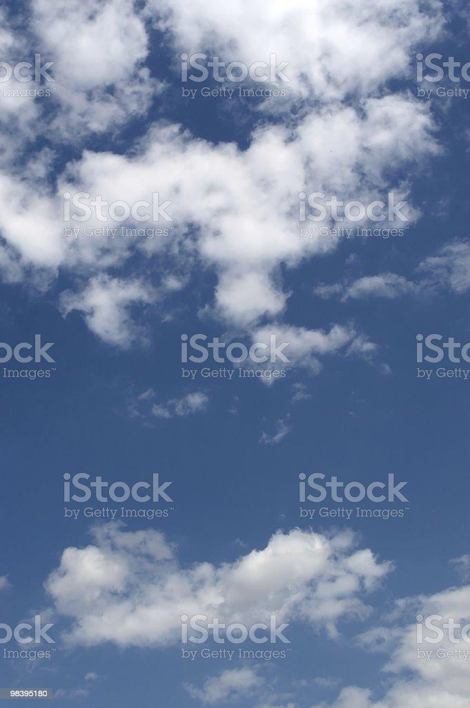 아름다운 푸른 하늘 royalty-free 스톡 사진