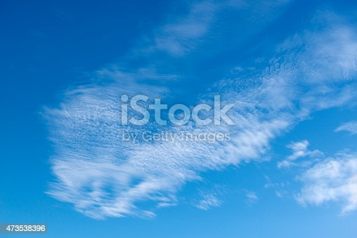 istock A beautiful blue sky with little clouds 473538396