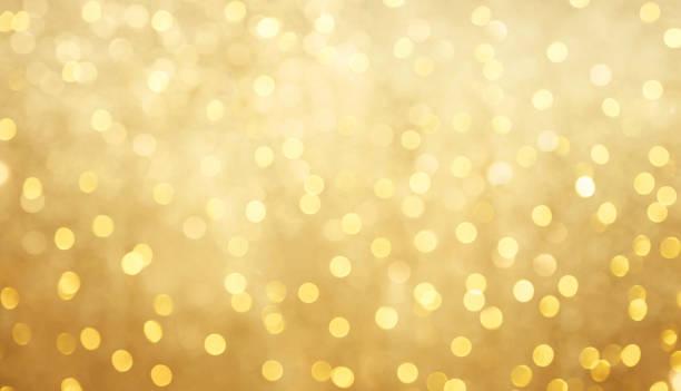 Fondo hermoso bokeh oro borrosa - foto de stock