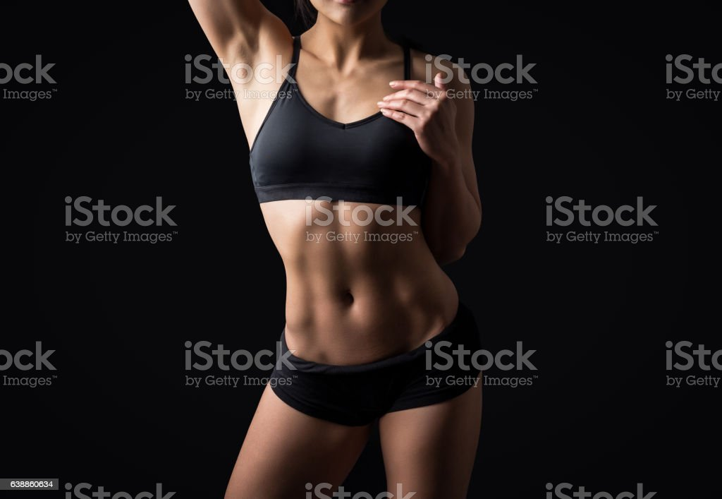 Beautiful body of fitness woman - Photo