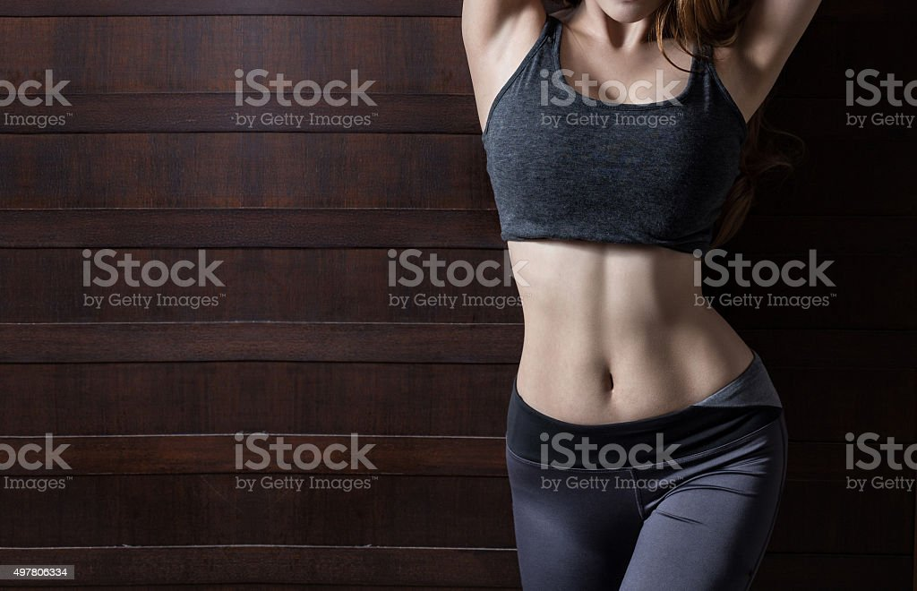 Beautiful body of woman stock photo