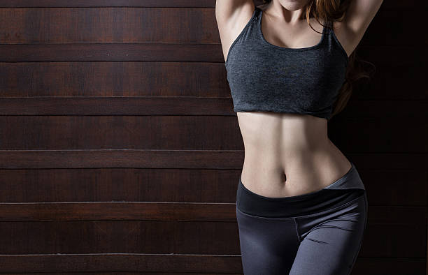 beautiful body of woman - slim stock pictures, royalty-free photos & images