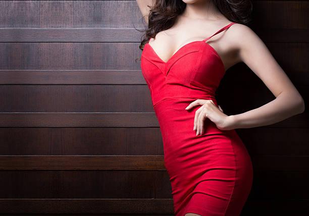 Beautiful body of woman stock photo