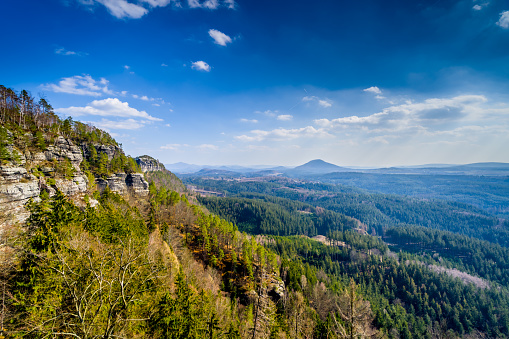 istock Beautiful Bohemian Switzerland in the Czech Republic 1138131773
