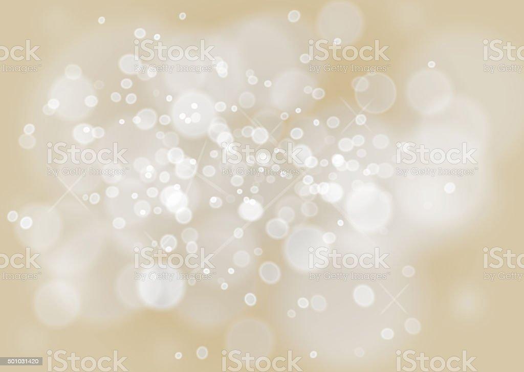 Schöne bokeh Hintergrund in einem Champagner Farbe und effet bubbles – Foto