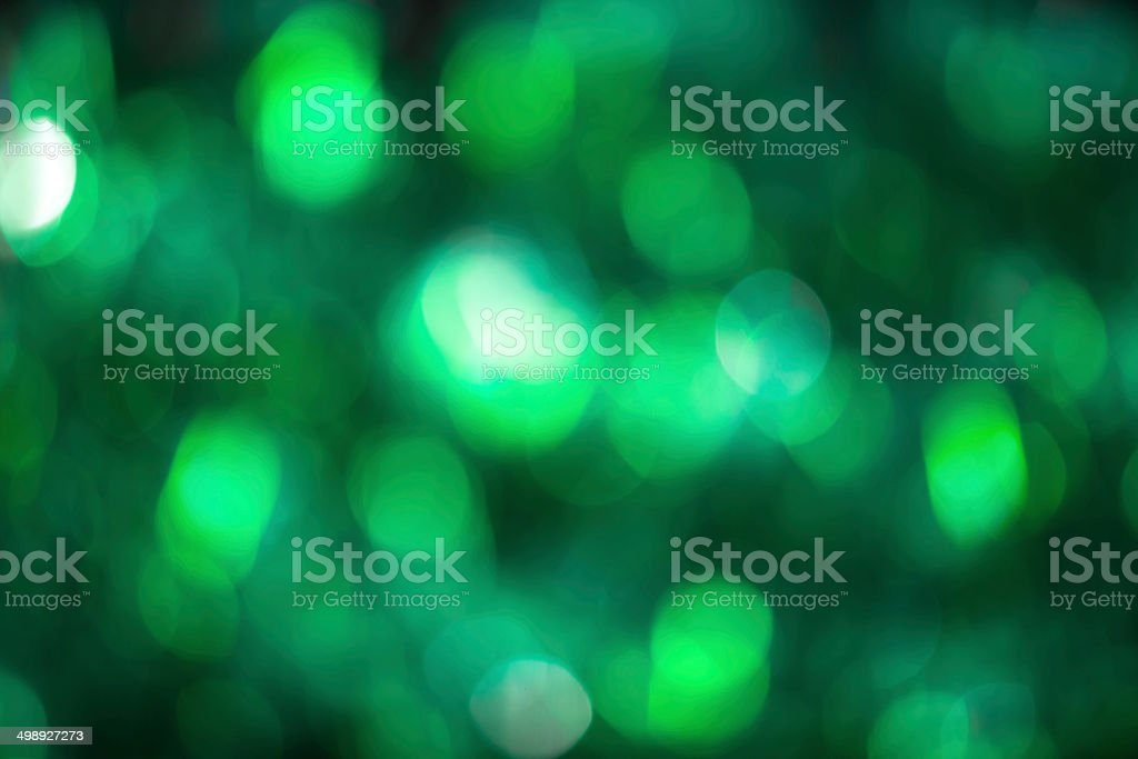 Beautiful bokeh lights stock photo