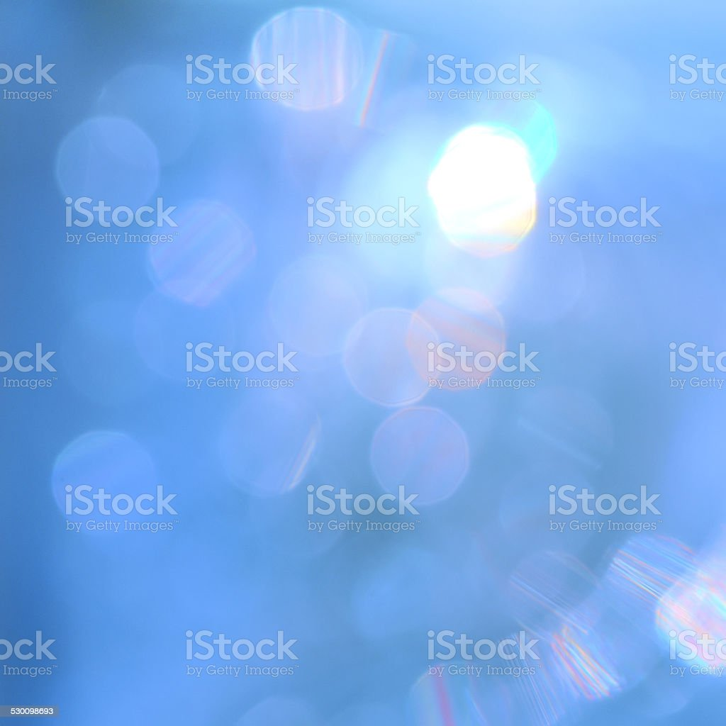 Beautiful Bokeh of lighting stock photo