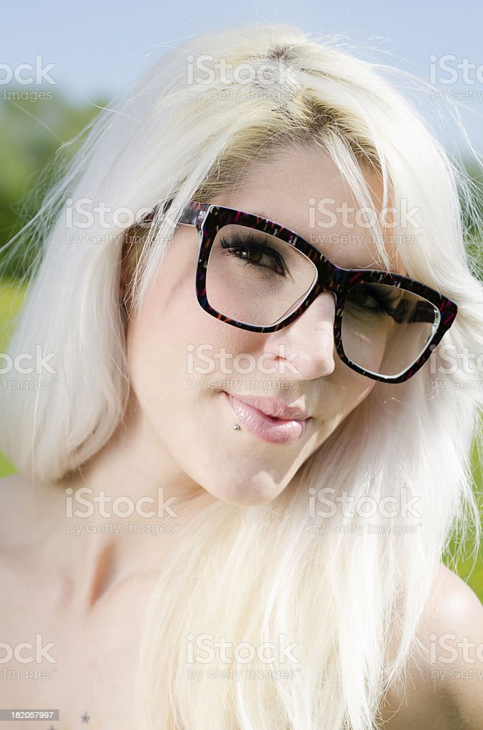 Beautiful Bonde Girl royalty-free stock photo
