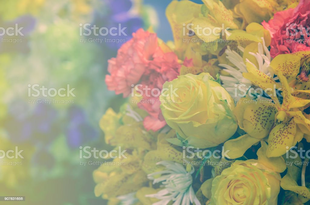Beautiful bouquet flowers with different types of yellow flowers beautiful bouquet flowers with different types of yellow flowers royalty free stock photo mightylinksfo