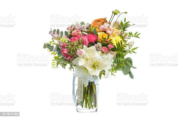 Beautiful bouquet of bright flowers in vase isolated white picture id511674764?b=1&k=6&m=511674764&s=612x612&h=pjjfineses6p9tl5c7k wlqbx25 itp2udlesyqiloa=