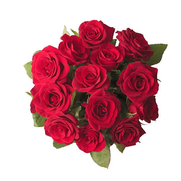 rose rosse bouquet - rosa rossa foto e immagini stock