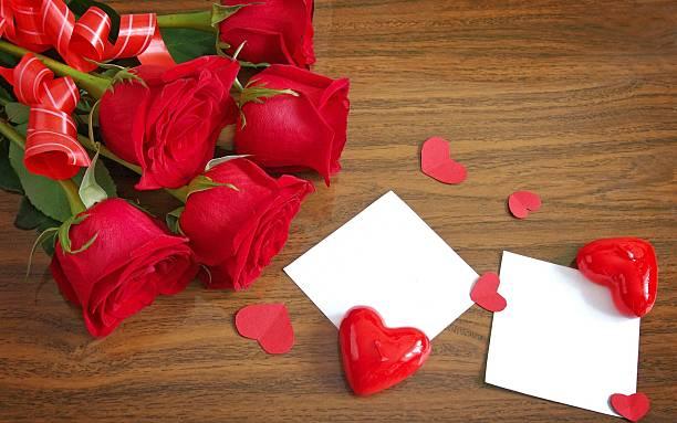 beautiful bouquet of roses - meerdere lagen effect stockfoto's en -beelden