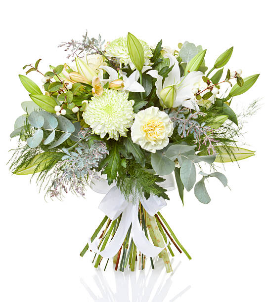 beautiful bouquet - bunch stock photos and pictures