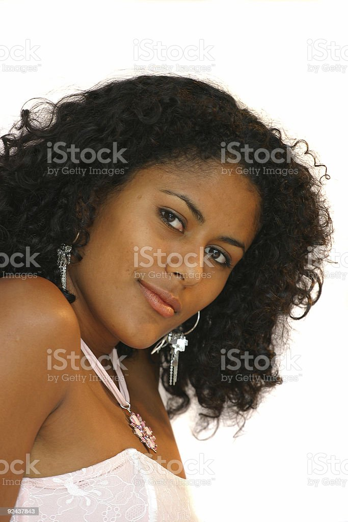 Beautiful brazilian woman royalty-free stock photo