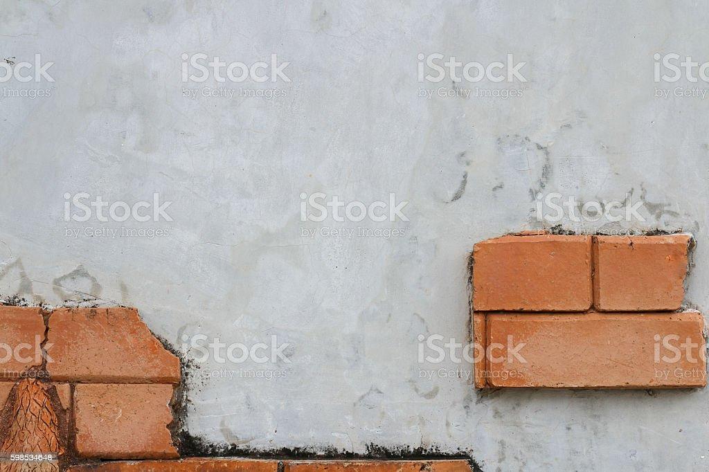 beautiful Brick wall . Background of brick wall texture photo libre de droits