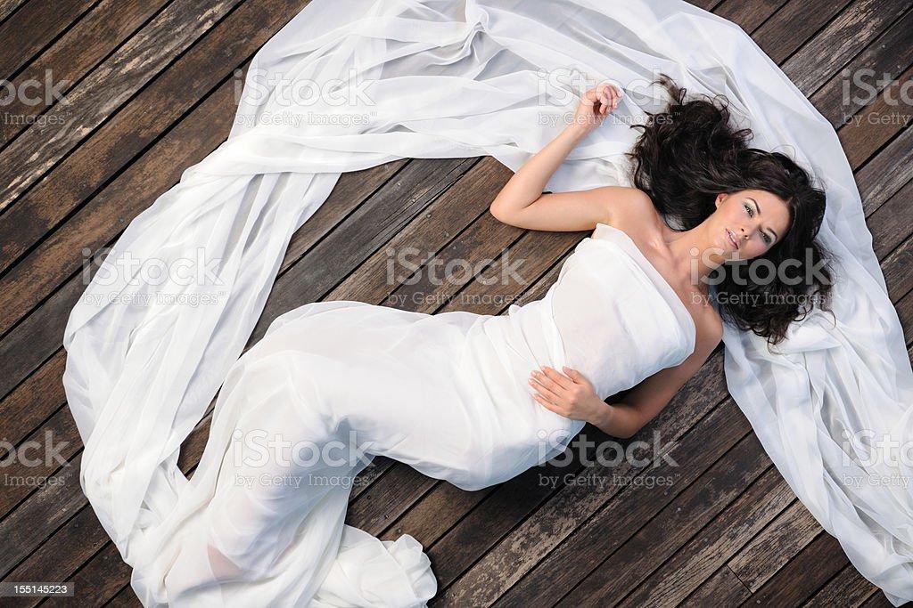 Beautiful Bride (XXXL) royalty-free stock photo