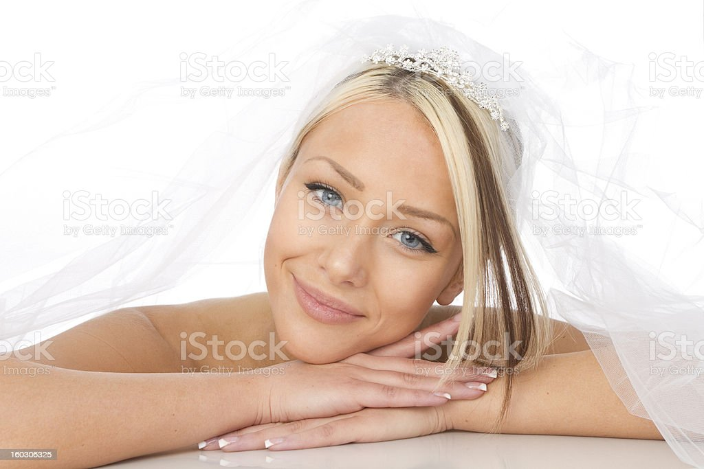 beautiful bride royalty-free stock photo