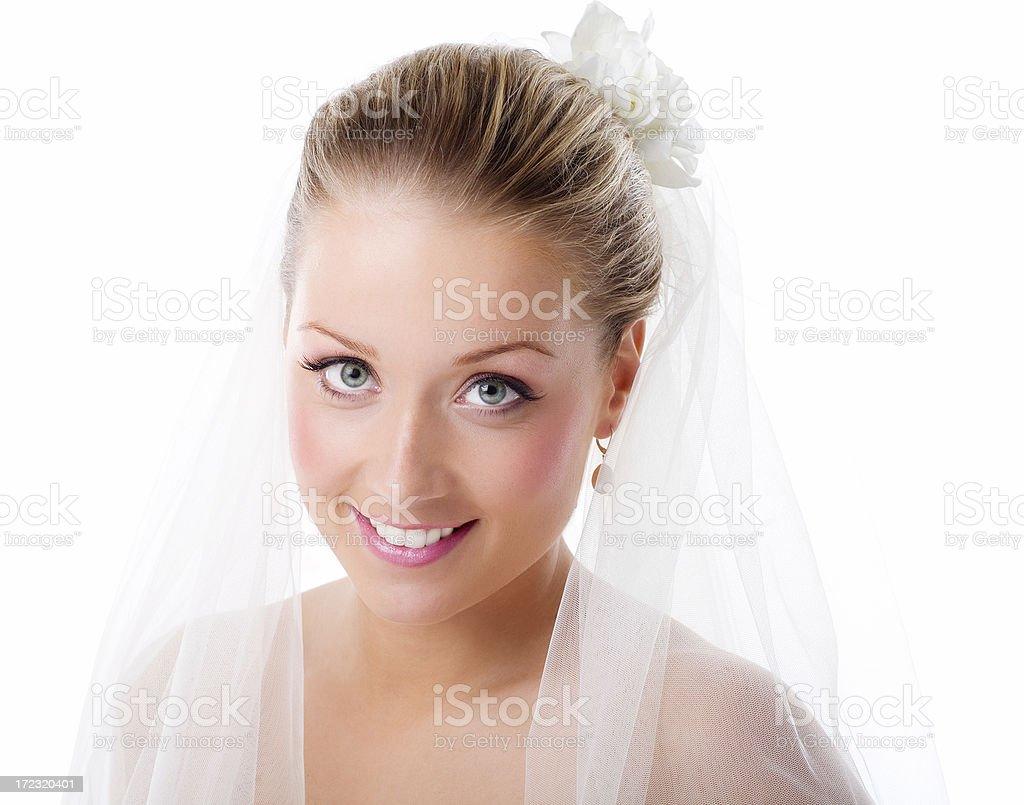 Beautiful Bride royalty-free stock photo