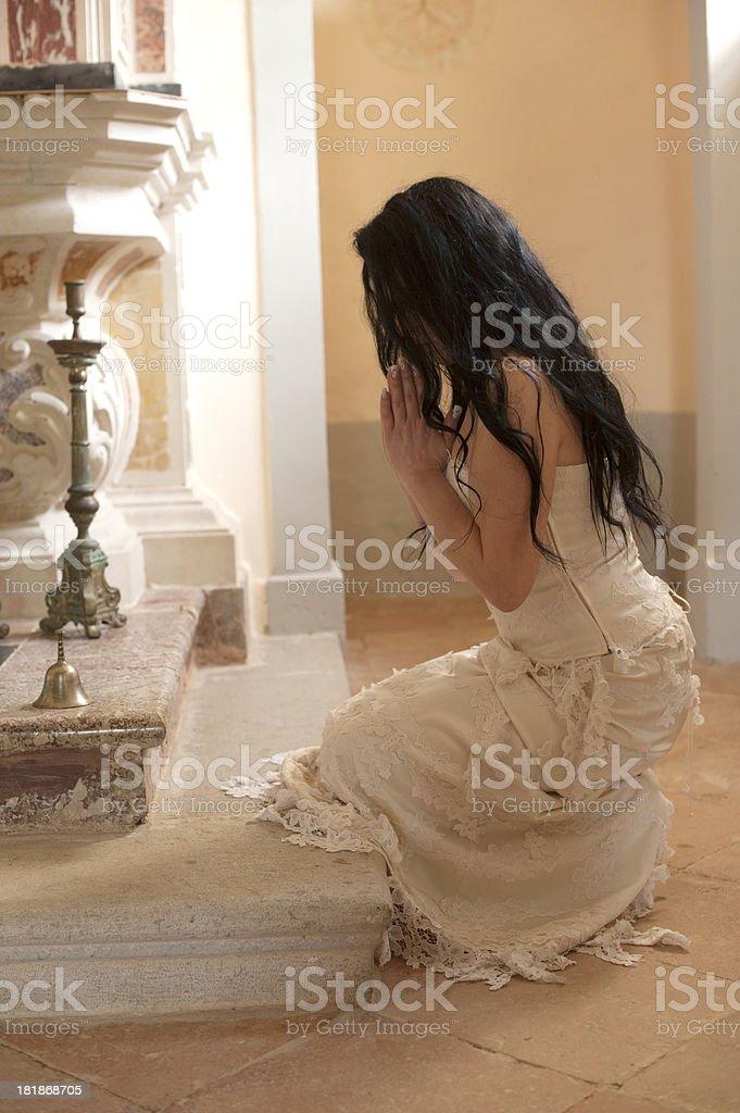 Linda noiva - foto de acervo