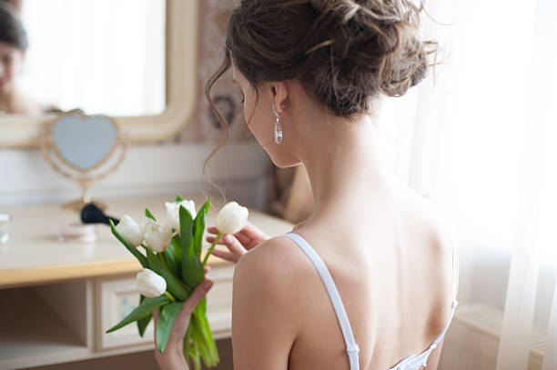 美しい花嫁 ストックフォト
