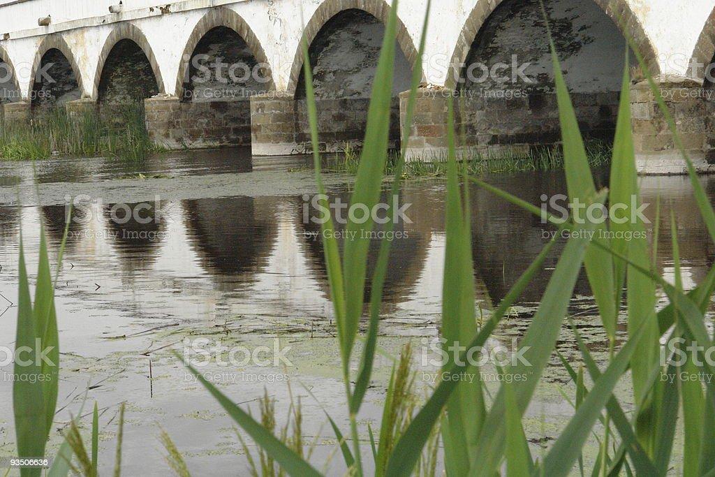 Beautiful bridge stock photo