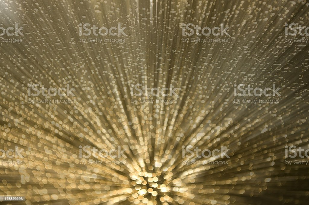A beautiful, bright, white light show royalty-free stock photo