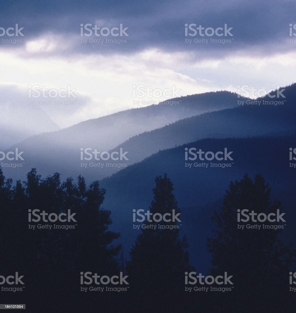 Beautiful British Columbia royalty-free stock photo