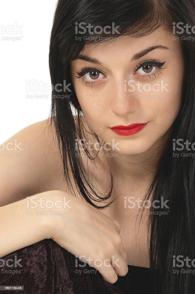 Brunette girl photo Beautiful Brunette Girl Stock Photo Download Image Now Istock