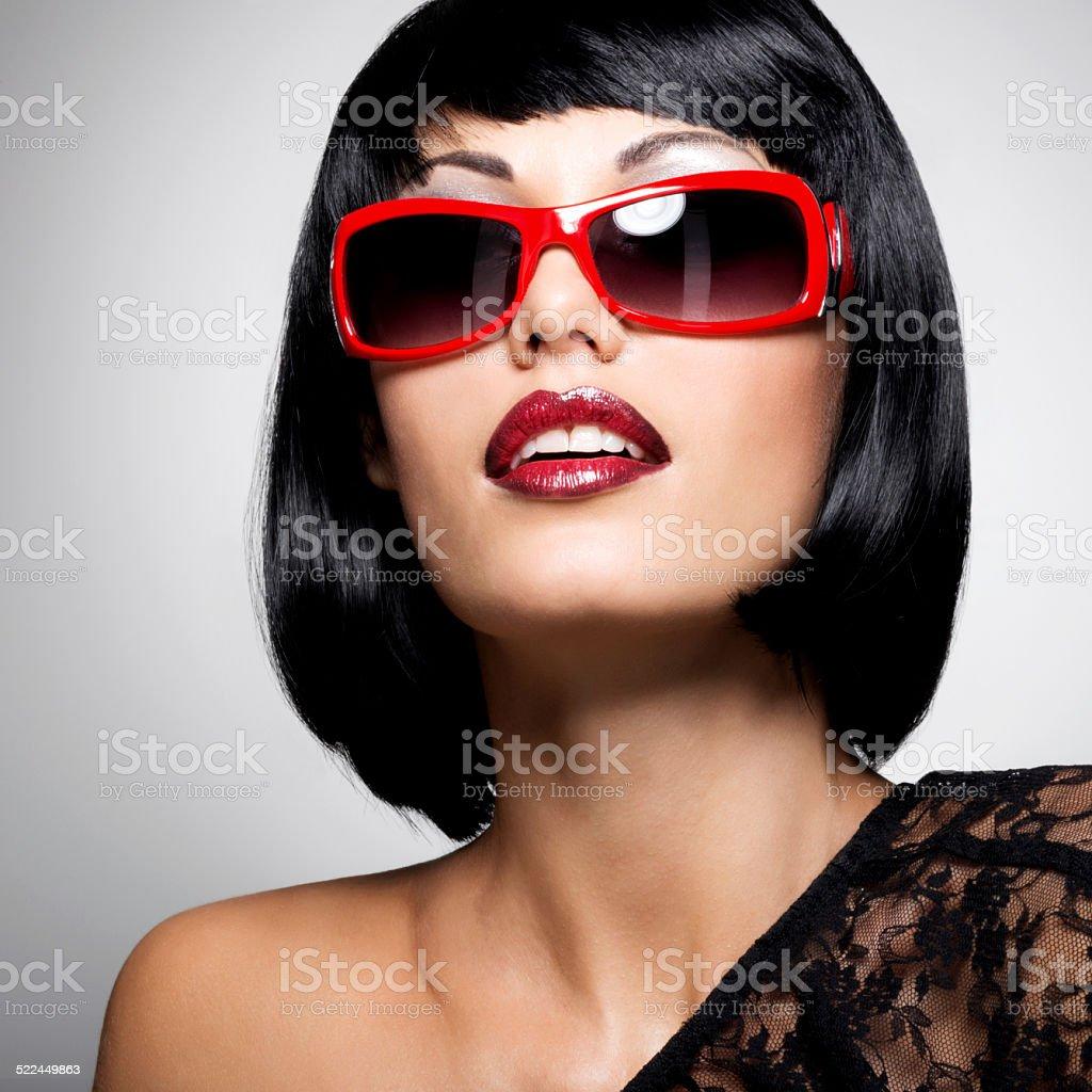 Brunette Capelli Bellissimo Di Stile Rossi Foto Donna Con rQdoBeWCx