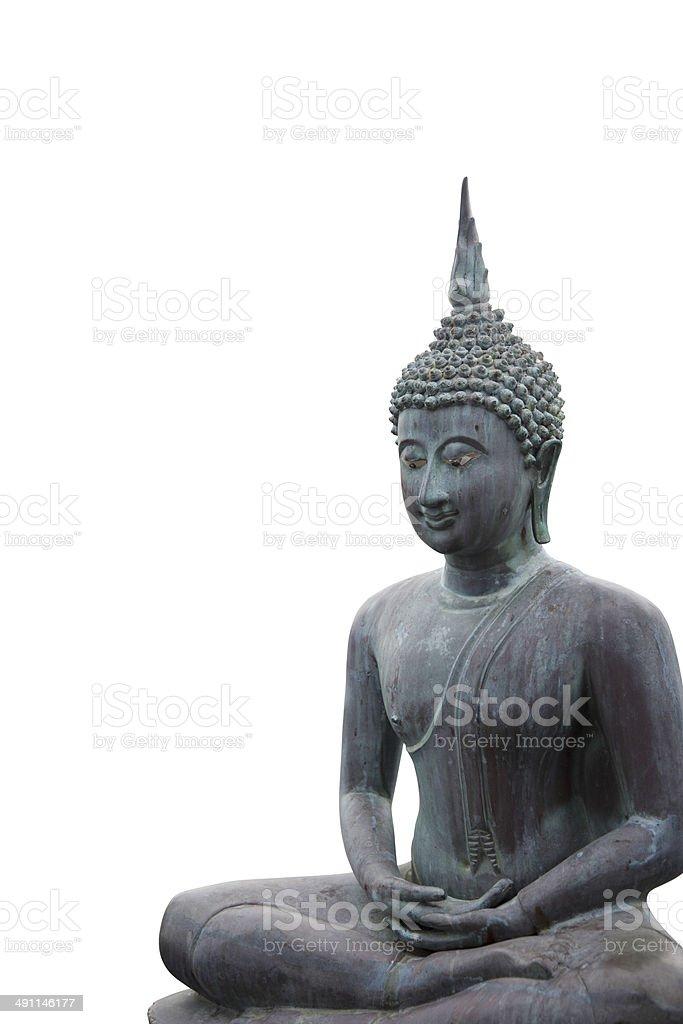 Beautiful buddha statue stock photo