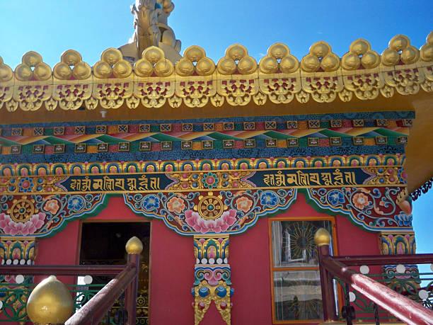 Magnífico templo budista - foto de stock