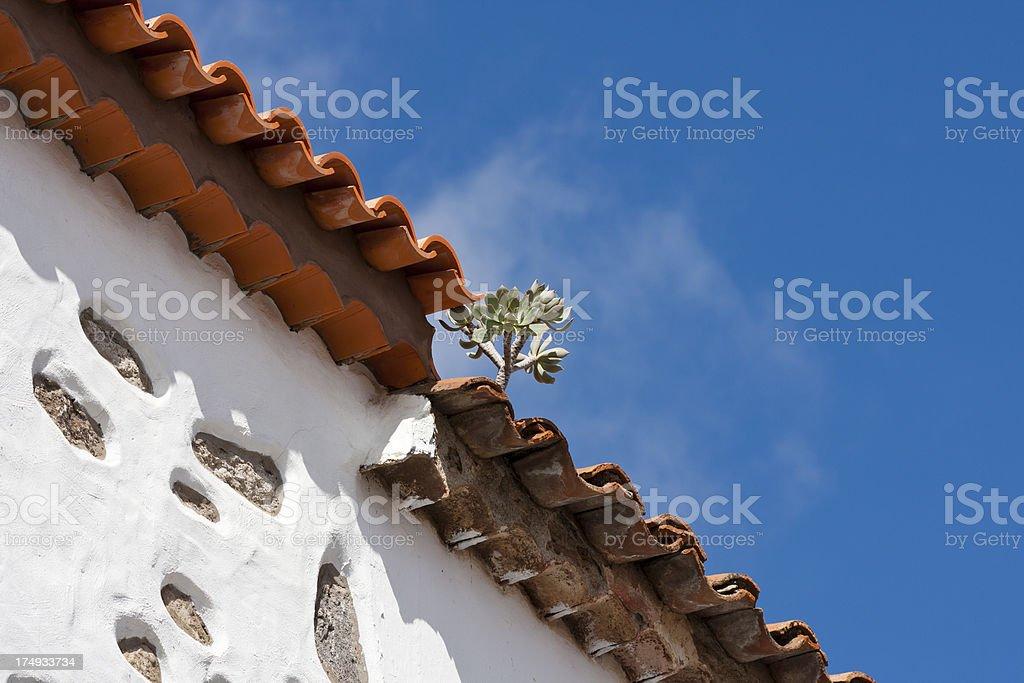 Beautiful Building Detail, Gran Canaria royalty-free stock photo