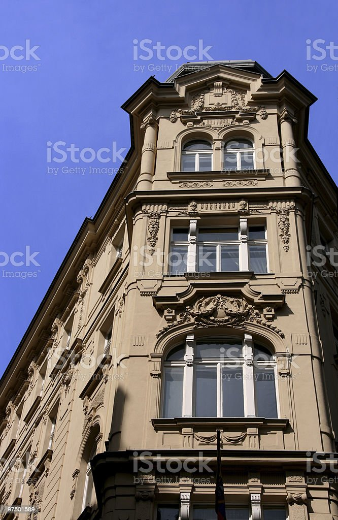 Beautiful building in Vienna royalty-free stock photo