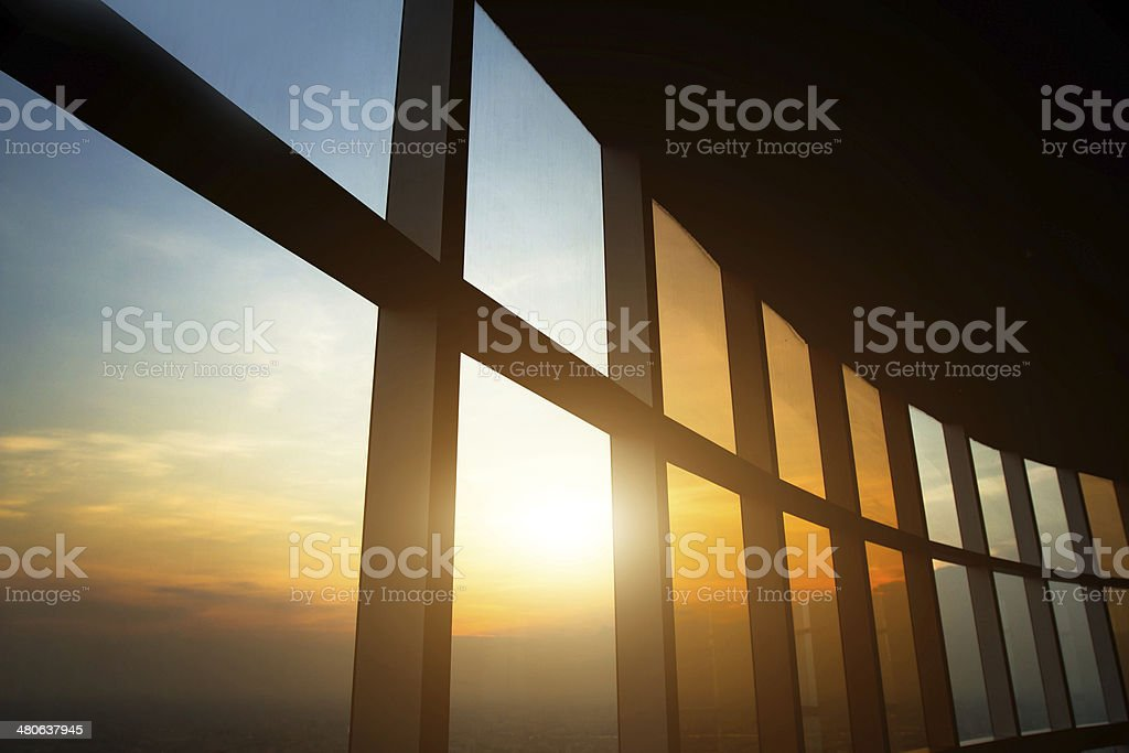 beautiful business interior stock photo