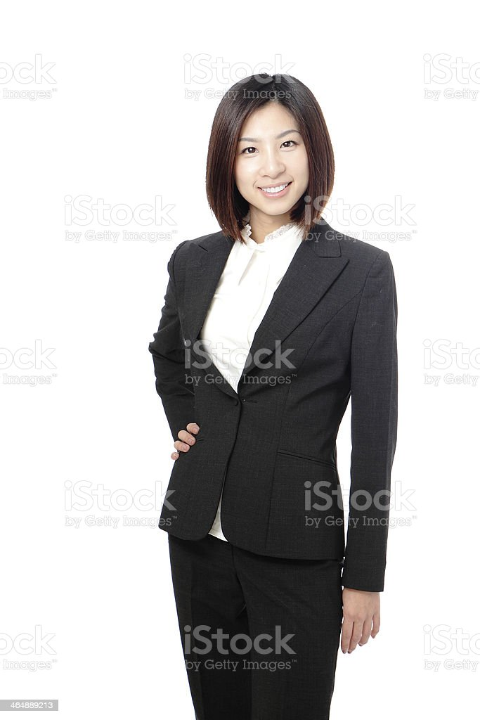 Beautiful Business woman confident smile portrait royalty-free stock photo