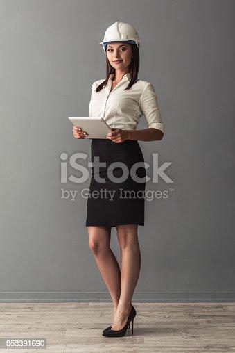 istock Beautiful business woman 853391690