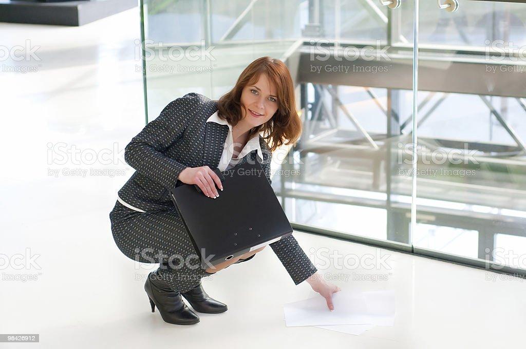 아름다운 비즈니스 여자 royalty-free 스톡 사진
