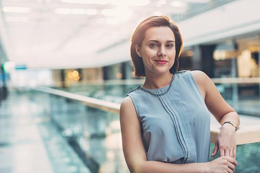 istock Beautiful businesswoman 638637908