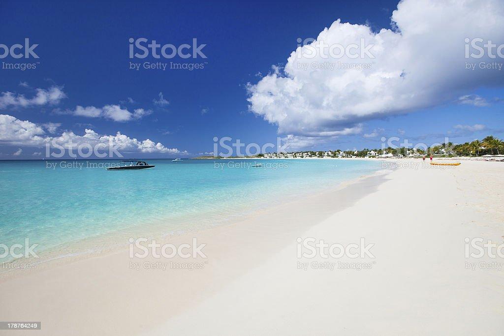 Wunderschöner karibischer Strand – Foto