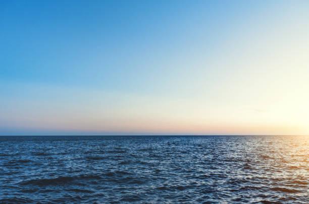 Schöne Karibische Meer bei Sonnenuntergang – Foto