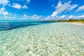 istock Beautiful Caribbean Sea 1128096692