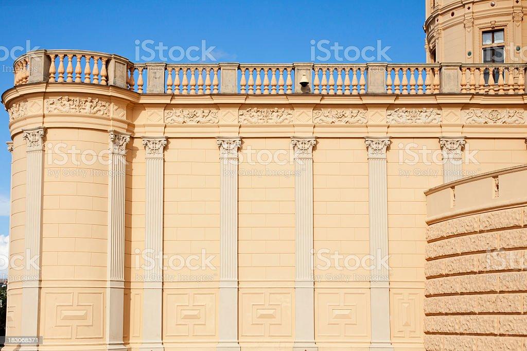 Beautiful Castle stock photo