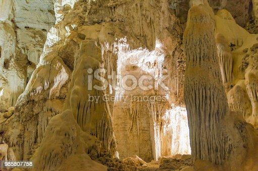 istock Beautiful cave of the City of Bonito in Matogrosso do Sul, Brazil. 985807758