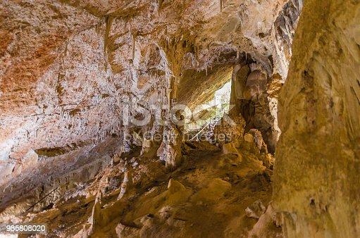 istock Beautiful cave of the City of Bonito in Matogrosso do Sul, Brazil. 985808020
