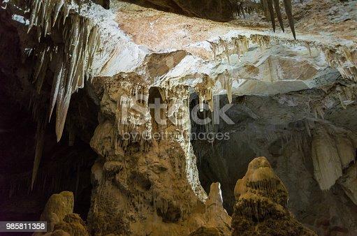 istock Beautiful cave of the City of Bonito in Matogrosso do Sul, Brazil. 985811358
