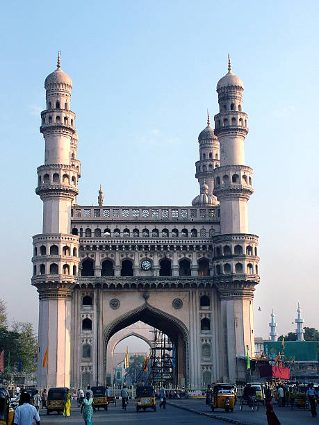 Beautiful Charminar monument in Hyderabad, India Charminar, Hyderabad, Andhra-Pradesh, char minar stock pictures, royalty-free photos & images