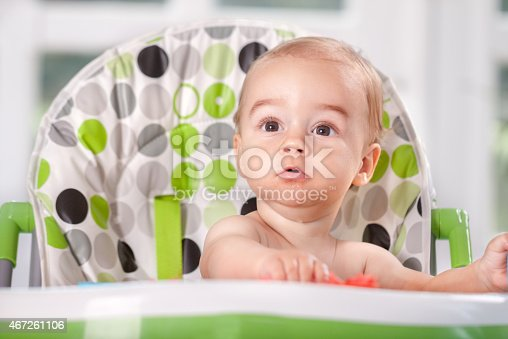 149051793 istock photo Beautiful child eat watermelon 467261106