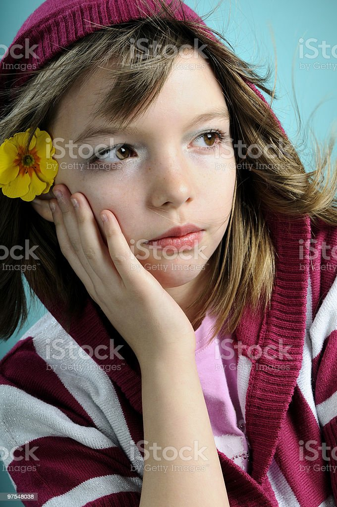 beautiful child portrait royalty-free stock photo
